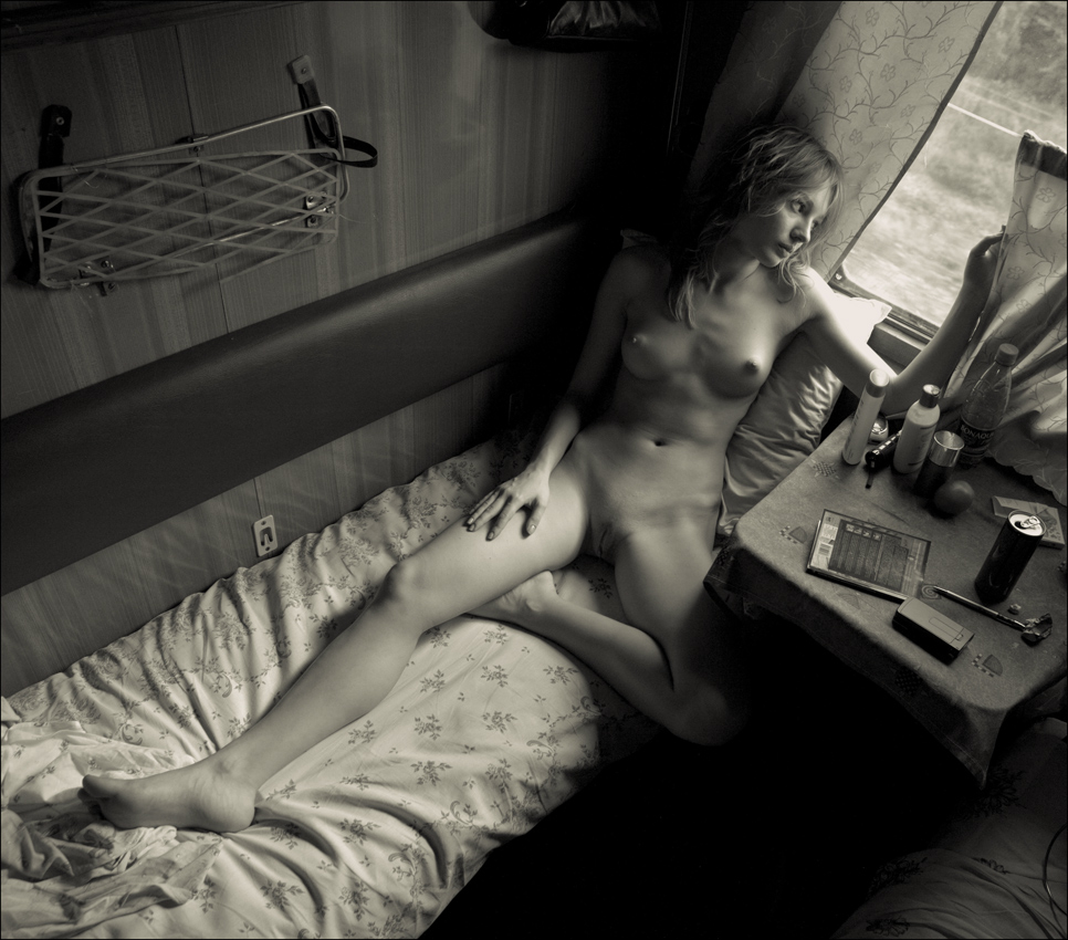 эрофото в поезде